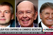 Wilbur Ross at nexus of Trump Russian deal