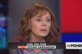 Sarandon: Trump win could bring 'revolution'