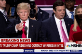 Trump aides had repeated contact with...