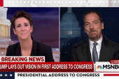Chuck Todd: Trump speech was Bannon's...