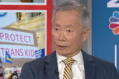 George Takei on transgender rights roll back