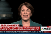 Sen. Klobuchar: Our democracy is at stake