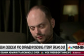Russian dissident talks surviving poisoning