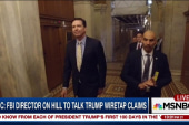 Comey meets with lawmakers amid Russia query