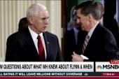 Pence story on Flynn 'impossible' to believe