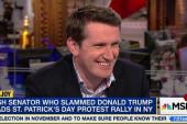 Viral, Irish senator standing up to Trump