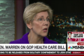 Warren calls GOP bill 'punch in the gut'