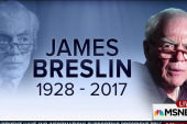 A word on Jimmy Breslin