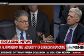 Franken questions Trump & Gorsuch's judgment