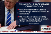Trump ends Obama climate change policies...
