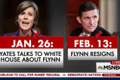 Flynn stayed at White House 17 days after...