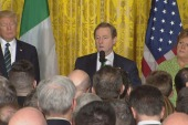 Irish PM reminds Trump St. Patrick was...