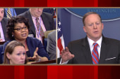Spicer Tells April Ryan to Stop Shaking...