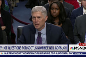 Donald Trump's SCOTUS pick plays the...