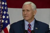 President, VP make light of Pence's...