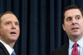 First intel meeting after calls for Nunes'...