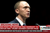FBI granted FISA warrant to monitor Carter...