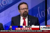 Who is Trump aide Sebastian Gorka?