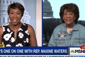Waters: I think Trump is going down