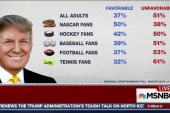 How Do Sports Fans View President Trump?