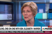 Warren: 'Democracy can't be a spectator...