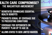 GOP Moderates Propose Health Care...