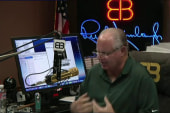Limbaugh slams Trump for 'caving' on...