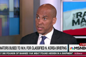 Booker: Stripped State Dept leaves US unready