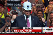 Trump breaks silence on coal miners' benefits