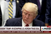 Trump signals risk of 'major, major...