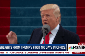 A look back at Trump's first 99 days in...