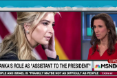 Ivanka Trump's influence difficult to discern
