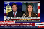 WH on Russia probe after Comey firing: It...