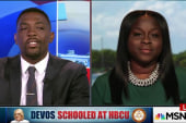 Devos Schooled at HBCU