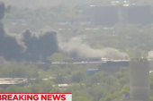 Jet Crash Sparks Fire Near Suburban New...