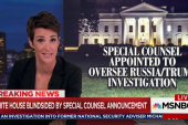 Special counsel named in Trump-Russia probe