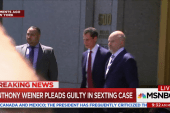 Anthony Weiner Pleads Guilty in Sexting Case
