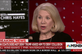 Watergate prosecutor: Trump actions are...