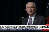 Sessions failed to disclose Russian meetings