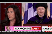 Hillary Clinton, six months later