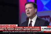 Mueller clears Comey to testify publicly...