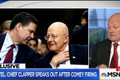 Clapper: Comey 'Uneasy' About January...