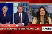 White House defends decision to fire James...