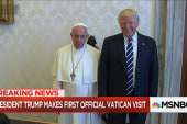 Outspoken Pope meets outspoken President