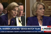 Sen. Warren launches effort to track Trump...