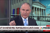 Have Pruitt and Trump discussed climate...