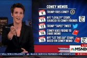 Trump lawyer botches Comey memo timeline