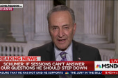 Schumer: Sessions in dereliction of his duty