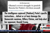 WaPost: Putin told hackers to hurt Clinton...