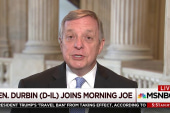 Durbin says Dems need three GOP senators...